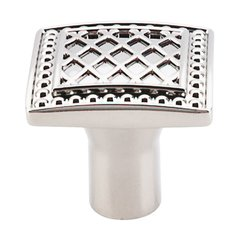 Trevi Fountain 1-1/4 Inch Diameter Polished Nickel Cabinet Knob <small>(#TK174PN)</small>