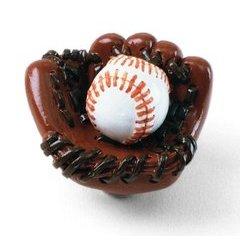 Whim-Z Baseball in Mitt Knob 1-1/4 inch Diameter