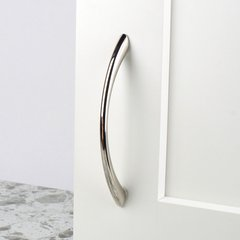 Century Hardware Metro 3-3/4 Inch Center to Center Polished Nickel Cabinet Pull 28166-14