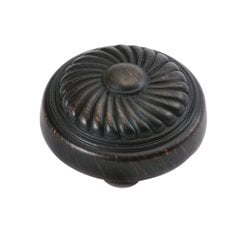 "French Country Knob 1-1/4"" Dia Vintage Bronze"