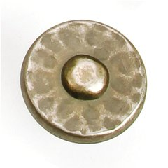 Nevada 1-3/8 Inch Diameter Antique Pewter Cabinet Knob <small>(#37606)</small>