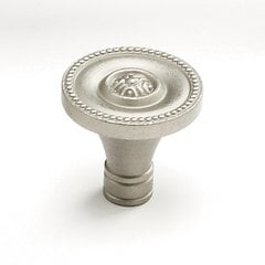 Meridian 1-3/8 Inch Diameter Antique Nickel Cabinet Knob