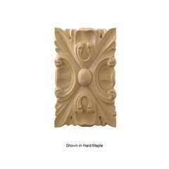 Brown Wood Large Acanthus Tile Unfinished Cherry 01902022CH1