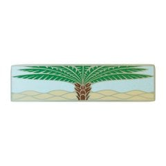Tropical 3 Inch Center to Center Antique Pewter Cabinet Pull <small>(#NHP-323-AP-B)</small>