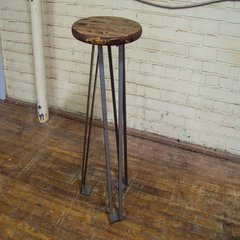 "Federal Brace Euro Hairpin Coffee Table leg 17"" H Steel 40092"
