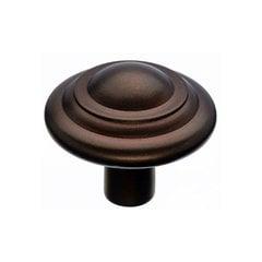 Aspen 1-3/4 Inch Diameter Mahogany Bronze Cabinet Knob <small>(#M1478)</small>