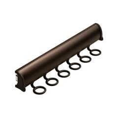 Elite Scarf Rack Dark Oil Rubbed Bronze 13-7/8 inch L - 6 Hook
