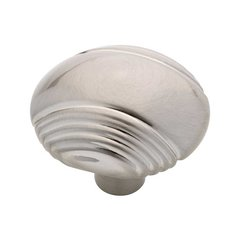 Venue 1-1/4 Inch Diameter Satin Nickel Cabinet Knob