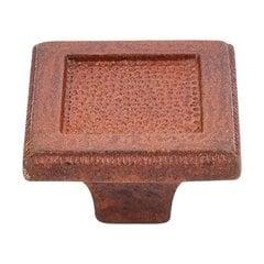 Britannia 2 Inch Diameter True Rust Cabinet Knob