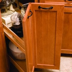 Kitchenmate Corner Pantry-Maple