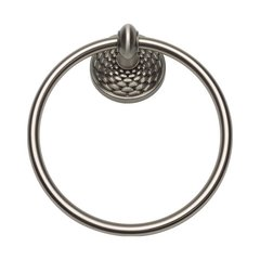 Mandalay Towel Ring Brushed Nickel