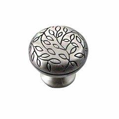 Satin Antique Silver