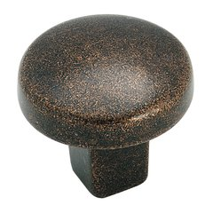 Forgings 1-1/4 Inch Diameter Rustic Bronze Cabinet Knob <small>(#BP4425RBZ)</small>
