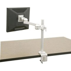 Single Monitor Arm 16 inch Extension-Clamp Mount <small>(#FPA825VC)</small>