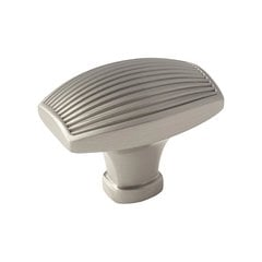 Sea Grass 1-1/2 Inch Diameter Satin Nickel Cabinet Knob <small>(#BP36614G10)</small>