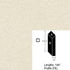 Wilsonart Bevel Edge - Neutral Glace - 12 Ft <small>(#CE-FE-144-4143-60)</small>
