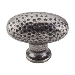 Chateau 1-1/2 Inch Length Cast Iron Cabinet Knob <small>(#M70)</small>