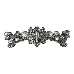 All Creatures 3 Inch Center to Center Brite Nickel Cabinet Pull <small>(#NHP-620-BN)</small>