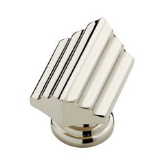Julian 1-1/2 Inch Diameter Polished Nickel Cabinet Knob