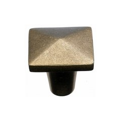 Aspen 1-1/4 Inch Diameter Light Bronze Cabinet Knob <small>(#M1516)</small>