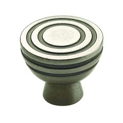 Sonara Knob 1-1/4 inch Diameter Antique Nickel <small>(#BP53043AN)</small>