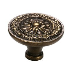 Eastlake Inspirations 1-3/4 Inch Diameter Cottage Antique Cabinet Knob