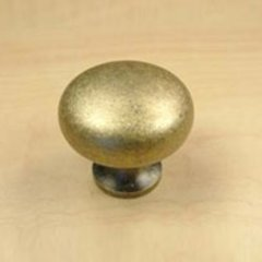 Hartford 1-1/4 Inch Diameter Aged English Cabinet Knob <small>(#12405-3B)</small>