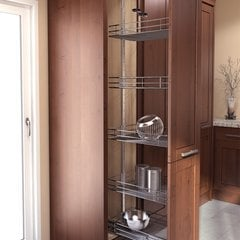 HSA Pantry Frame 57 inch - 67 inch Chrome