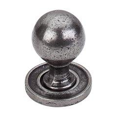 Britannia 1-1/4 Inch Diameter Cast Iron Cabinet Knob <small>(#M50)</small>