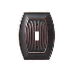 Allison One Toggle Wall Plate Oil Rubbed Bronze