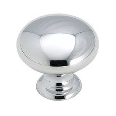 Brass Classics 1-1/4 Inch Diameter Polished Chrome Cabinet Knob <small>(#BP195026)</small>