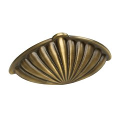 Casual Elegance 3 Inch Center to Center Redington Brass Cabinet Cup Pull <small>(#875-RB)</small>