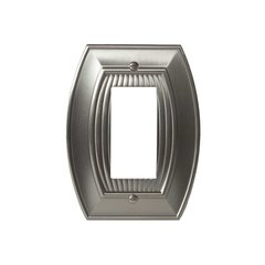 Allison One Rocker Wall Plate Satin Nickel
