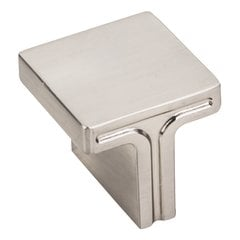 Anwick Cabinet Knob 1-1/8 inch Diameter - Satin Nickel <small>(#867L-SN)</small>