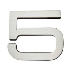 Paragon House Number Five Stainless Steel