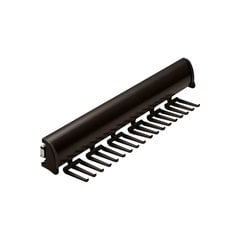 "Elite Tie Rack Dark Oil Rubbed Bronze 13-7/8"" L - 18 Hook"