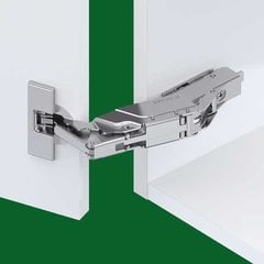 Tiomos 160° Screw On Overlay Hinge - Self Close