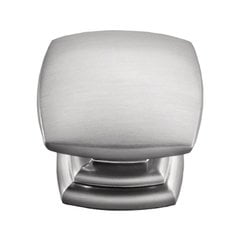 Euro-Contemporary 1-1/2 Inch Diameter Stainless Steel Finish Cabinet Knob <small>(#P2163-SS)</small>
