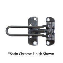 Aluminum Door Flip Guard Bright Chrome