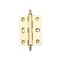 Elite Mortised Butt Hinge 63X45mm - Polished Brass