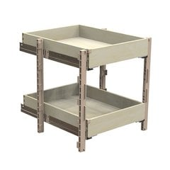 "QuikTRAY Two Drawer KIt for 24"" Cabinets"