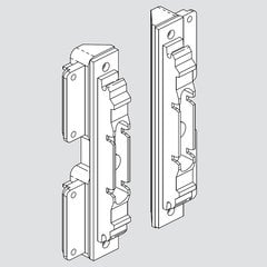 Aventos Narrow Aluminum Door Hardware Set