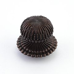 Sonata 1-1/4 Inch Diameter Dark Antique Bronze Cabinet Knob