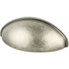 Advantage Plus 3 2-1/2 Inch Center to Center Weathered Nickel Cabinet Cup Pull