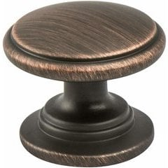Advantage Plus 5 1-3/16 Inch Diameter Verona Bronze Cabinet Knob