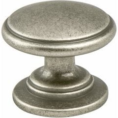 Advantage Plus 5 1-3/16 Inch Diameter Weathered Nickel Cabinet Knob