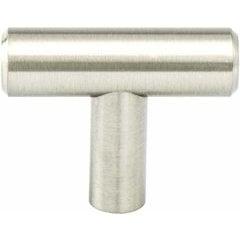 Advantage Plus 7 2 Inch Diameter Brushed Nickel Cabinet Knob <small>(#9435-2BPN-P)</small>