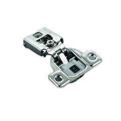 "Salice 106° Silentia FF Hinge/Plate 1/2"" Overlay Screw On"