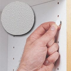 14MM Stick-On Cover Cap Light Grey PVC - 1040 Per Box <small>(#FC.SP.916.LG)</small>