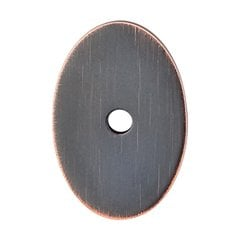 Sanctuary 1-1/2 Inch Length Tuscan Bronze Back-plate <small>(#TK60TB)</small>